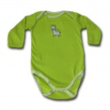 Giraffe Bright Bots Adam & Eve Baby Wear Tag Free Romper - Baby Boys and Girls Clothes