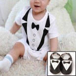 Classy Tuxedo Set Including Matching Shoes
