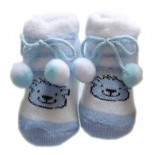 Soft Baby Socks/Shoes - Blue