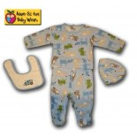 Doggy On The Go 4 Pieces Set - Babies Clothes