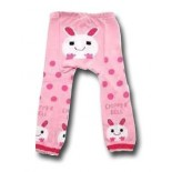 Bunny In Pink Leggings/Tights- Babies Accessories