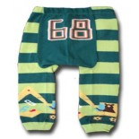 Blue & Green Stripes Leggings/Tights- Babies Accessories