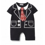 Little Gentleman 1 Piece Onesie/Romper - Formal/Wedding Attire