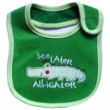 See You Later Alligator Bib - Babies Accessories