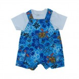 Blue Tribal Sea 2 Pieces Set - Baby Clothes