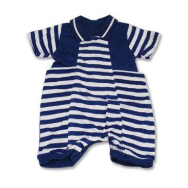 86054a493b15 Blue Stripes Sailor Romper - Baby Boy Clothes - Affordable Baby ...