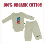 Upside Down 2 Pieces Set - Organic Cotton - Baby Clothes