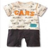 Cars From Emile Zola 1 Piece Onesie/Romper - Baby Boy Clothes