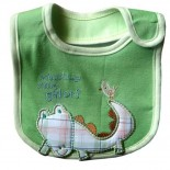 What's Up Little Gator Bib - Baby Boys Clothes