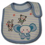 Dumbo In Blue Bib - Baby Boys Clothes