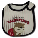 Baby's First Valentine In Red Bib - Baby Boys Clothes