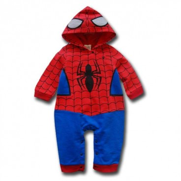 Spiderman Costume 2 Pcs Outfit (With Spiderhood u0026 Full Legs) - Baby Boy Clothes  sc 1 st  Baby Clothes & Spiderman Costume 2 Pcs Outfit (With Spiderhood u0026 Full Legs) - Baby ...