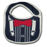 Master of Mistro Red Bow Bib - Baby Girls & Boys Clothes