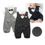 Handsome Boy 1 Piece Romper - Formal/Wedding Attire